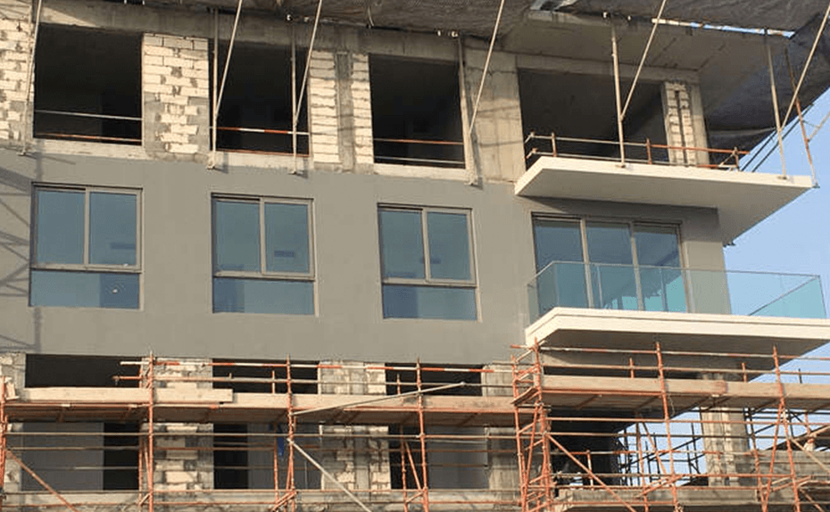Marassi Shores Residences – Mock-up apartment external view, April 2018
