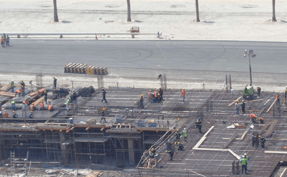 MARASSI RESIDENCES - PODIUM LEVEL 2 IN PROGRESS, VIEW 3 - AUGUST 2018