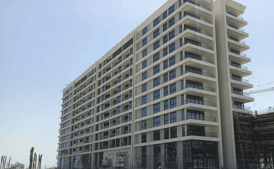 MARASSI RESIDENCES - External elevation and landscaping progress – north tower, July 2018
