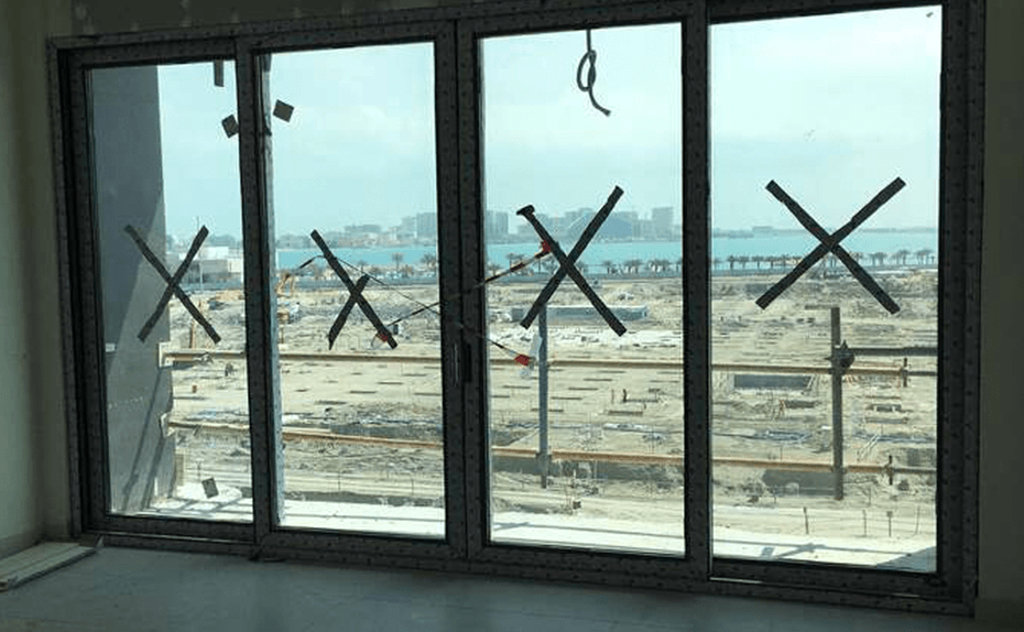 Marassi Residence - Tiling, ceilings and glazing installation ongoing, February 2018