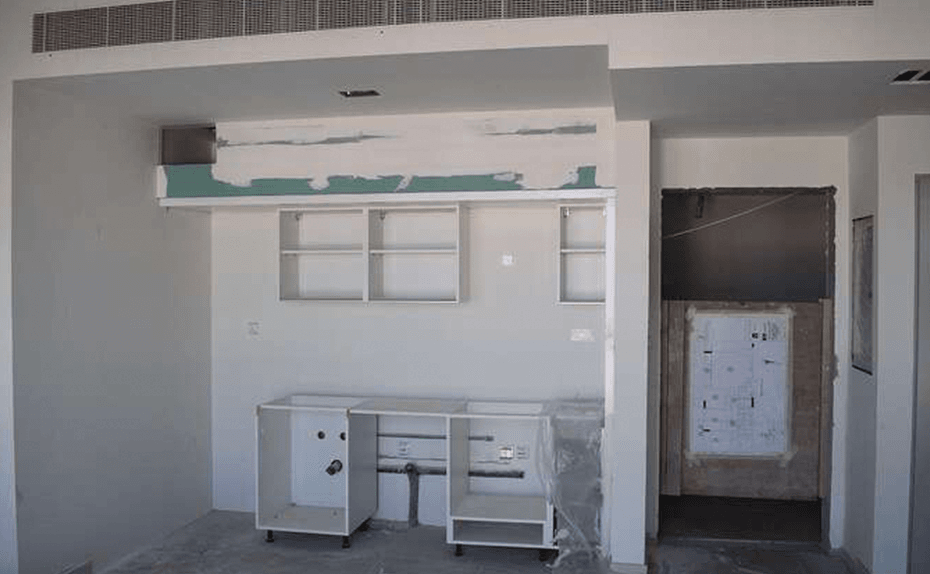 Marassi Residences - Internal kitchen unit fit-out works in progress, March 2018