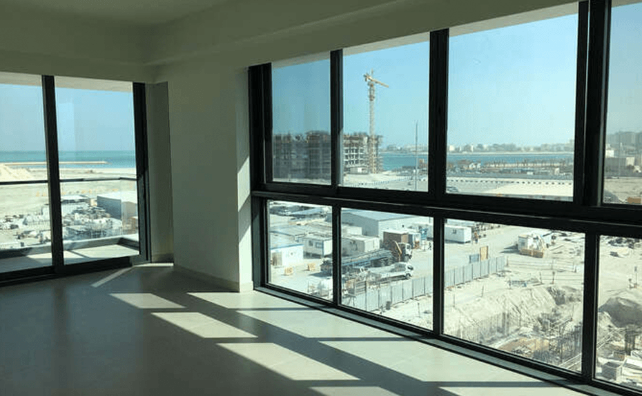 Marassi Residences - Mock up unit internal glazing and tiling completed, January 2018