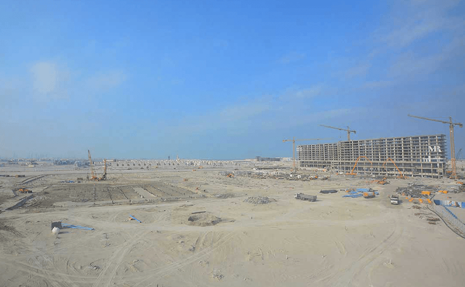 NBR towers (Marassi Residences) and Mall basement progress for Marassi Residences November 2017