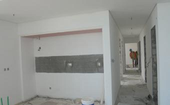Sample apartment @ Building C – Finishing work is in progress