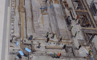 MARASSI RESIDENCES - PODIUM LEVEL 2 IN PROGRESS, VIEW 1 - AUGUST 2018
