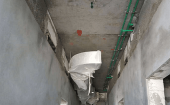 MARASSI BOULEVARD - Mock-up apartment – Plastering & MEP works in progress, July 2018