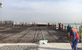 Preparation for PT Slabs for Marassi Shores Residences November 2017
