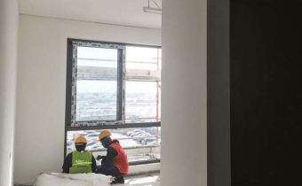 Marassi Shores Residences - Mock-up apartment – Finishing works in progress, March 2018