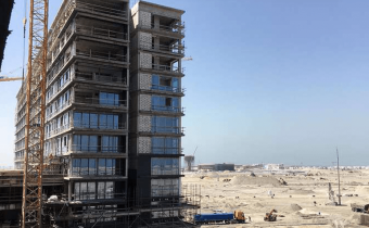Marassi Residences - North tower showing glazing progress, February 2018