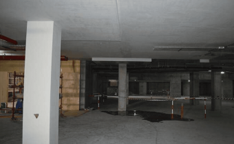 Marassi Shores Residences - Painting works at basement in progress, January 2018