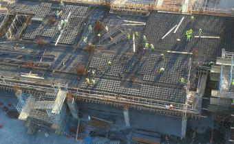 Vida Hotel first floor slab