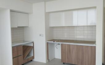 Kitchen Cabinet Works at Building B, June 2019
