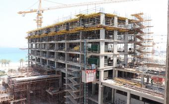 Vida Hotel- Level 7 Slab Formwork, June 2019