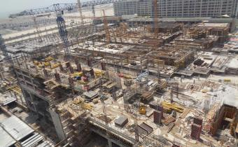 Vida Serviced Apartments Level - 7 Slab works, June 2019