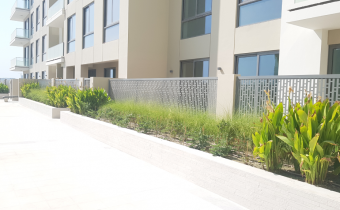 Metal Fencing & Landscaping Works in progress, August 2019