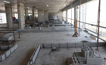 Vida Hotel - Level 3 - Blockwork in Progress, September 2019