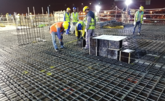 Vida Hotel - Part 1 & 2 - Level 09 - Slab Work In Progress, August 2019