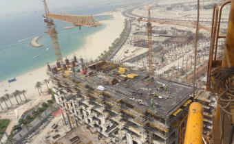 Vida Hotel - Part 1 & 2 -Level 9 - Slab Works Ongoing, August 2019