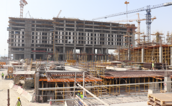 Vida Service Apartment - Part 3 & 4 - Level 09 - Columns and Slab Works, August 2019